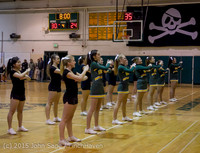 22744 VIHS Cheer-Band-Crowd at BBall v Seattle-Academy 121614
