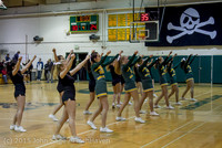 22749 VIHS Cheer-Band-Crowd at BBall v Seattle-Academy 121614