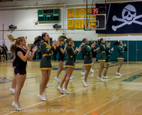22755 VIHS Cheer-Band-Crowd at BBall v Seattle-Academy 121614