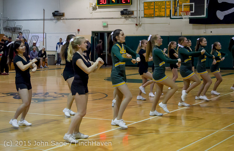 22777 VIHS Cheer-Band-Crowd at BBall v Seattle-Academy 121614