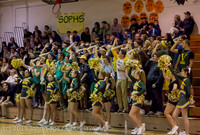 23062 VIHS Cheer-Band-Crowd at BBall v Seattle-Academy 121614
