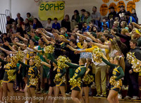 23074 VIHS Cheer-Band-Crowd at BBall v Seattle-Academy 121614