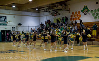 23418 VIHS Cheer-Band-Crowd at BBall v Seattle-Academy 121614