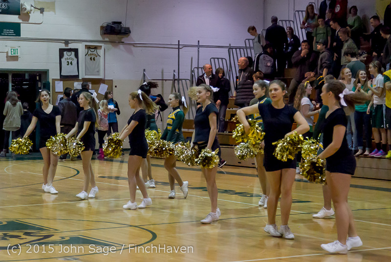23435 VIHS Cheer-Band-Crowd at BBall v Seattle-Academy 121614