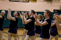 4064 VIHS Winter Cheer at Girls BBall v Port Angeles 120914