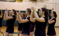4070 VIHS Winter Cheer at Girls BBall v Port Angeles 120914