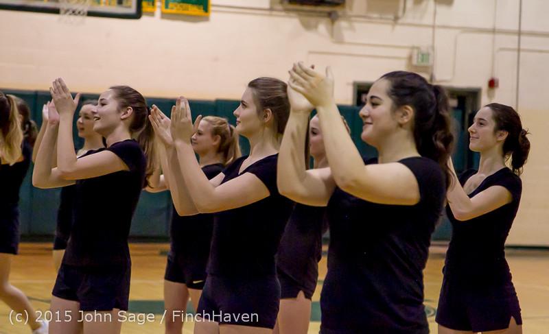 4070 VIHS Winter Cheer at Girls BBall v Port Angeles 120914