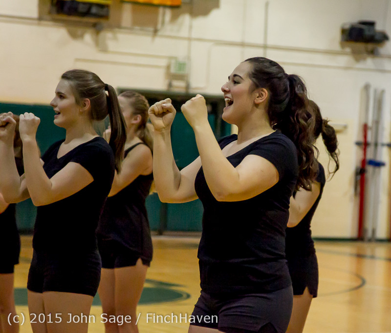 4079 VIHS Winter Cheer at Girls BBall v Port Angeles 120914