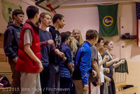4112 VIHS Winter Cheer at Girls BBall v Port Angeles 120914