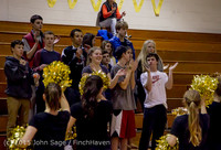 4321 VIHS Winter Cheer at Girls BBall v Port Angeles 120914