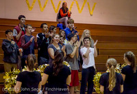 4325 VIHS Winter Cheer at Girls BBall v Port Angeles 120914