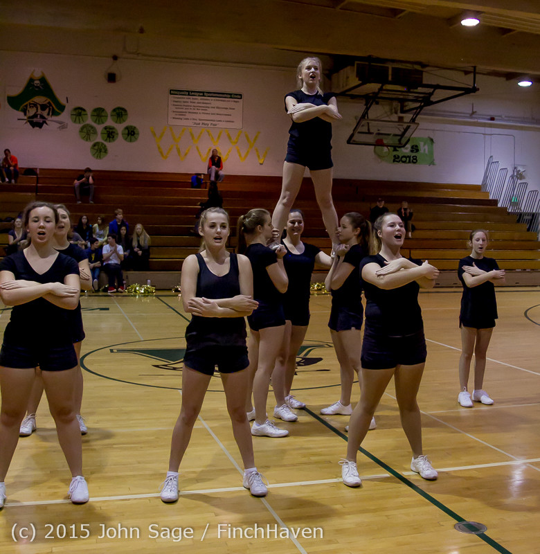 4490 VIHS Winter Cheer at Girls BBall v Port Angeles 120914