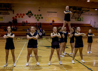 4493 VIHS Winter Cheer at Girls BBall v Port Angeles 120914