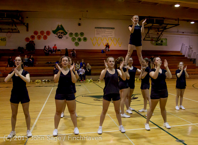 4504 VIHS Winter Cheer at Girls BBall v Port Angeles 120914
