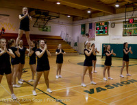 4510 VIHS Winter Cheer at Girls BBall v Port Angeles 120914