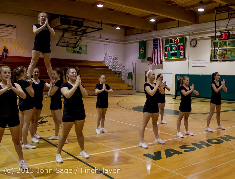4510 VIHS Winter Cheer at Girls BBall v Port Angeles 120914