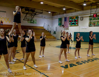 4516 VIHS Winter Cheer at Girls BBall v Port Angeles 120914