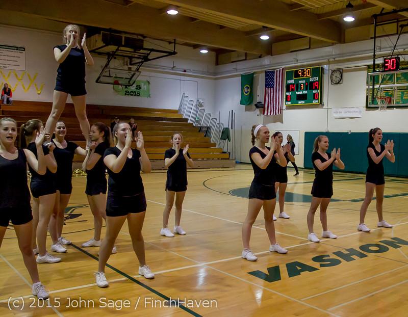 4516 VIHS Winter Cheer at Girls BBall v Port Angeles 120914