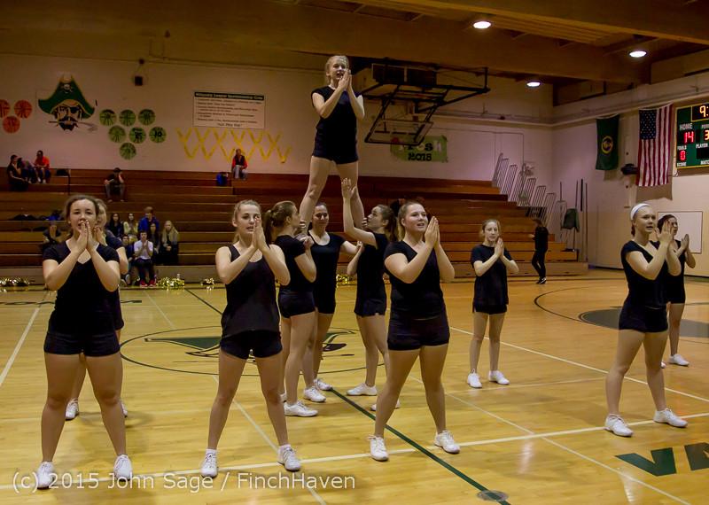 4526 VIHS Winter Cheer at Girls BBall v Port Angeles 120914