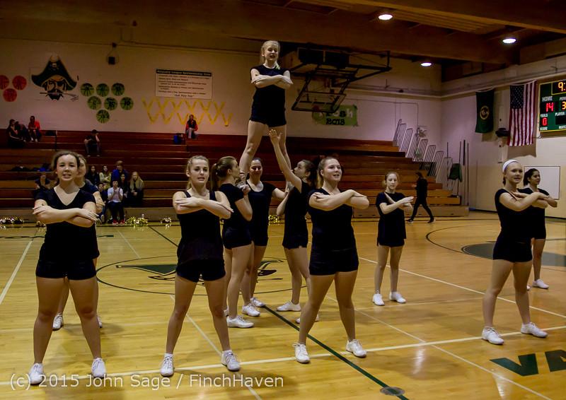 4528 VIHS Winter Cheer at Girls BBall v Port Angeles 120914