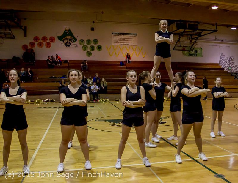 4533 VIHS Winter Cheer at Girls BBall v Port Angeles 120914