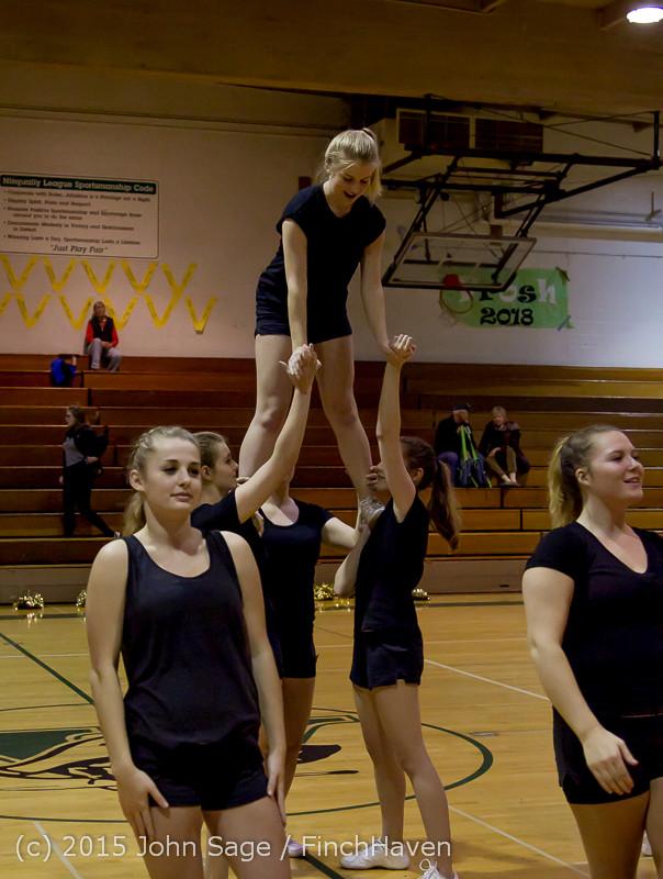 4549 VIHS Winter Cheer at Girls BBall v Port Angeles 120914