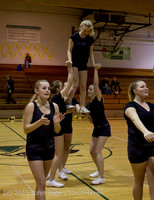 4555 VIHS Winter Cheer at Girls BBall v Port Angeles 120914