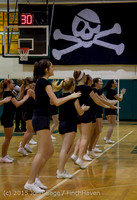 4944 VIHS Winter Cheer at Girls BBall v Port Angeles 120914