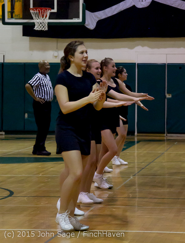 4965 VIHS Winter Cheer at Girls BBall v Port Angeles 120914