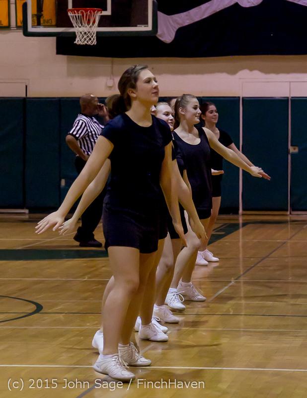 4976 VIHS Winter Cheer at Girls BBall v Port Angeles 120914