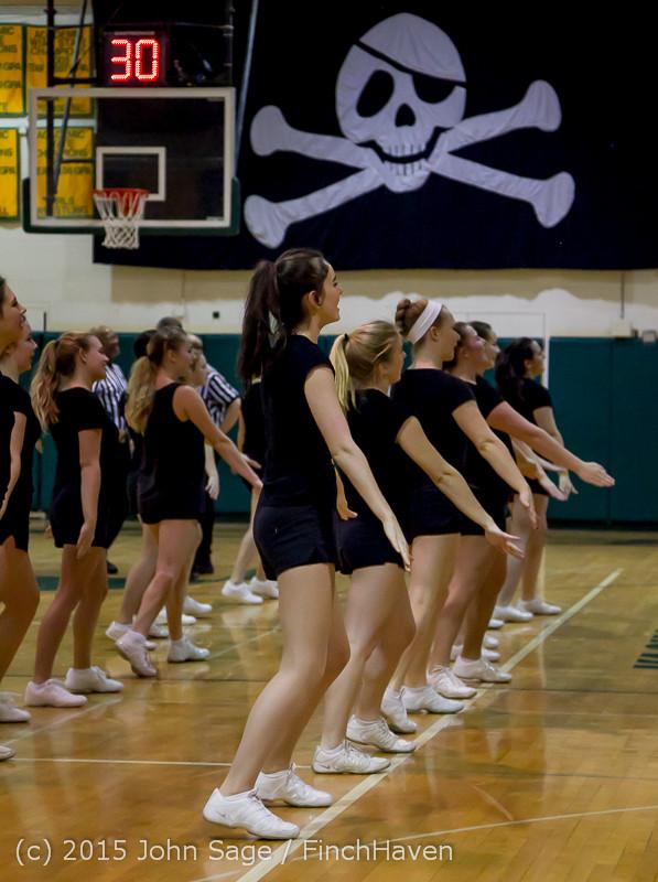 4979 VIHS Winter Cheer at Girls BBall v Port Angeles 120914