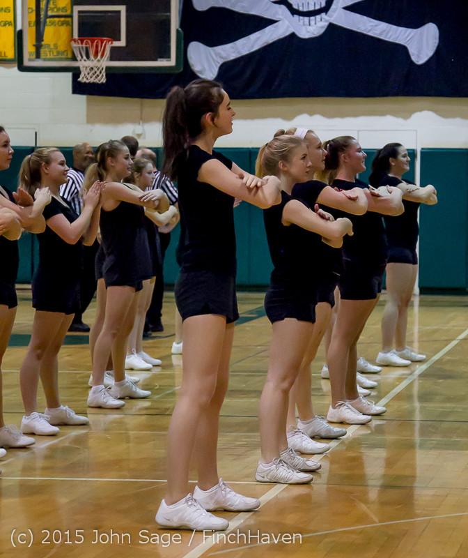 4985 VIHS Winter Cheer at Girls BBall v Port Angeles 120914