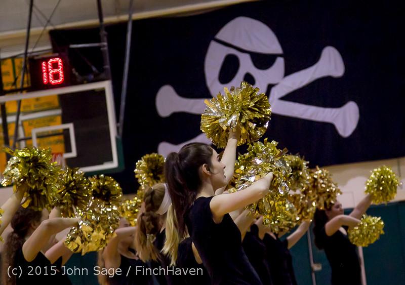 5082 VIHS Winter Cheer at Girls BBall v Port Angeles 120914