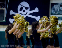 5104 VIHS Winter Cheer at Girls BBall v Port Angeles 120914