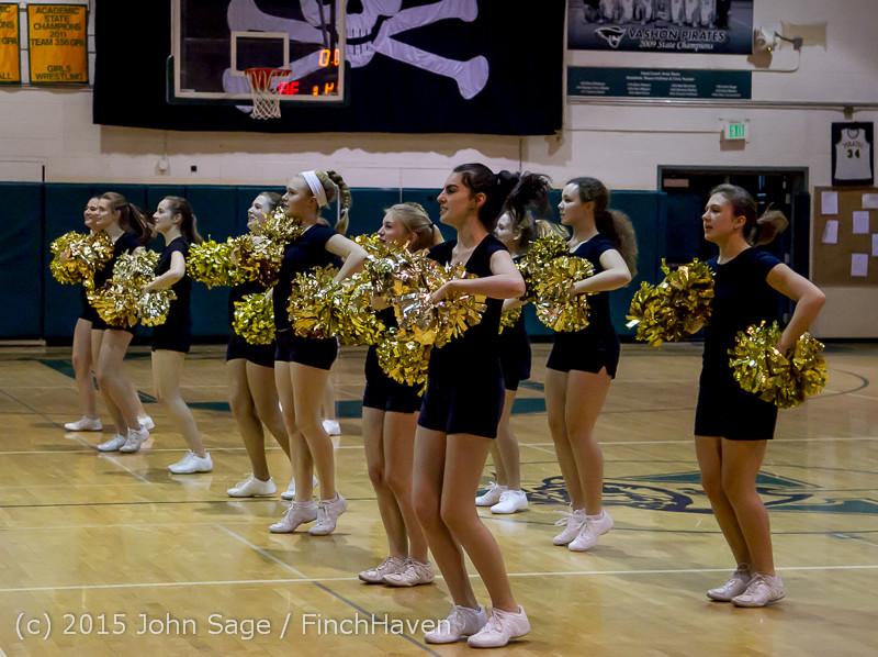 5536 VIHS Winter Cheer at Girls BBall v Port Angeles 120914