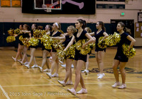 5539 VIHS Winter Cheer at Girls BBall v Port Angeles 120914