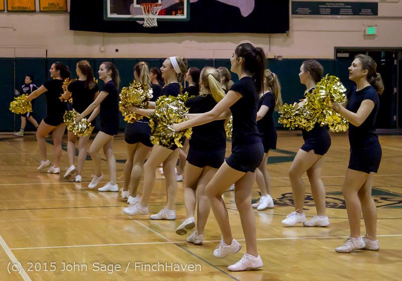 5552 VIHS Winter Cheer at Girls BBall v Port Angeles 120914