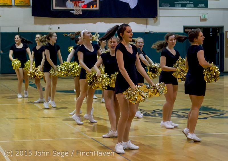 5557 VIHS Winter Cheer at Girls BBall v Port Angeles 120914