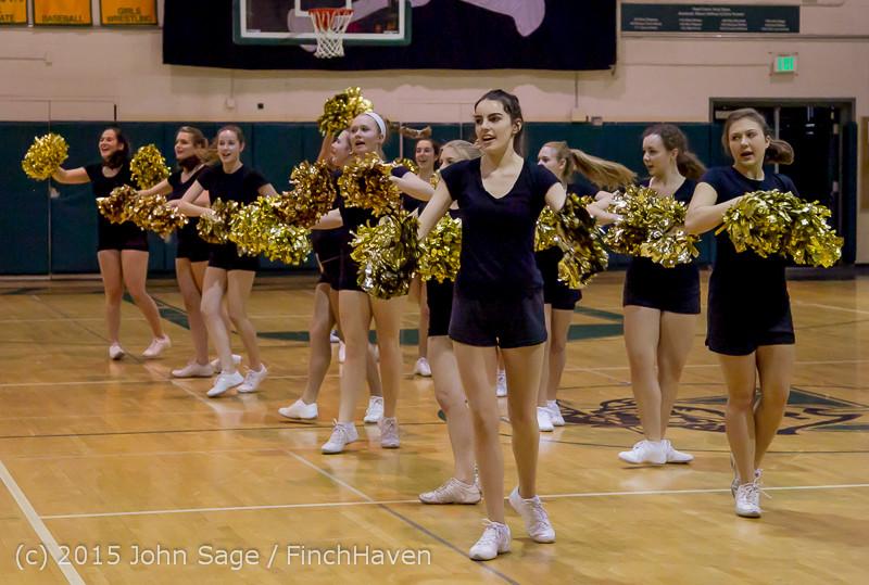 5559 VIHS Winter Cheer at Girls BBall v Port Angeles 120914