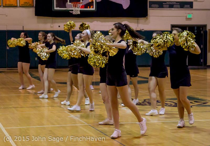 5561 VIHS Winter Cheer at Girls BBall v Port Angeles 120914