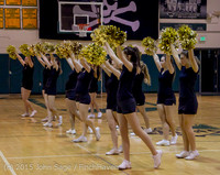 5565 VIHS Winter Cheer at Girls BBall v Port Angeles 120914