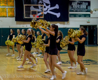5571 VIHS Winter Cheer at Girls BBall v Port Angeles 120914