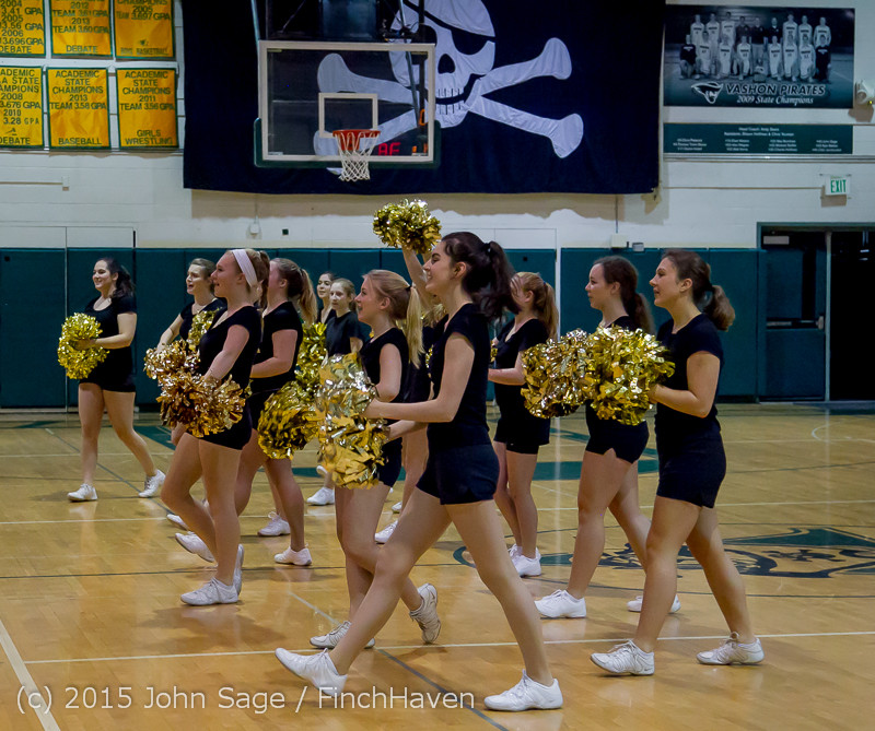 5575 VIHS Winter Cheer at Girls BBall v Port Angeles 120914