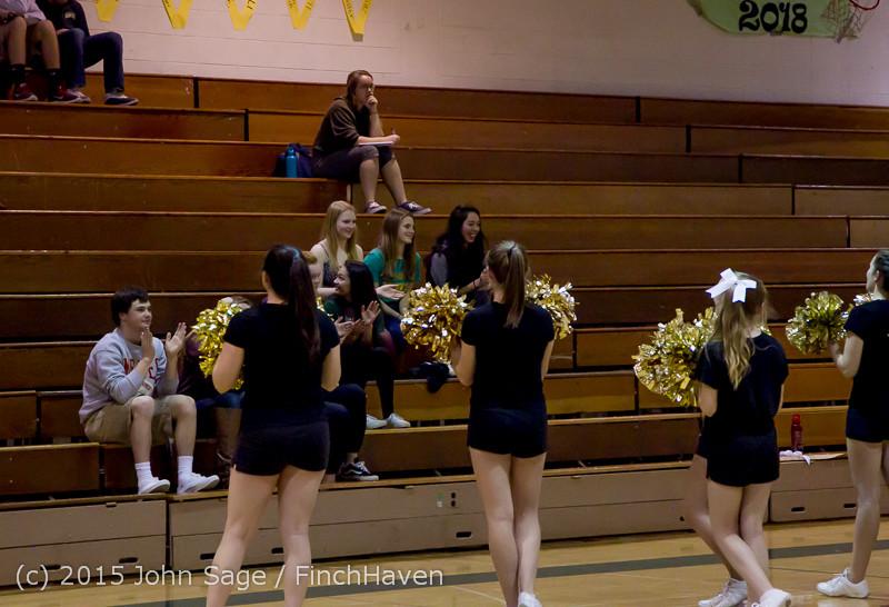 7301 VIHS Cheer at Girls BBall v Meridian 121114