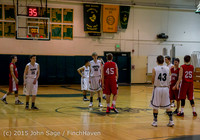 0146 Boys JV Basketball v Crosspoint 122115