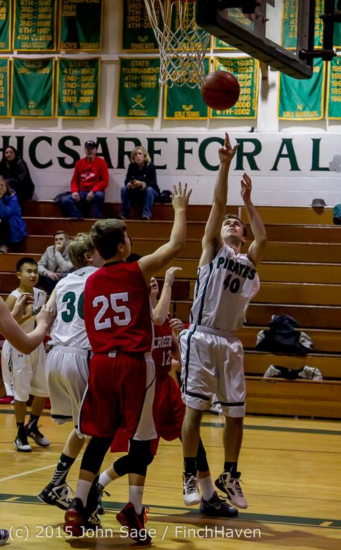 0194 Boys JV Basketball v Crosspoint 122115