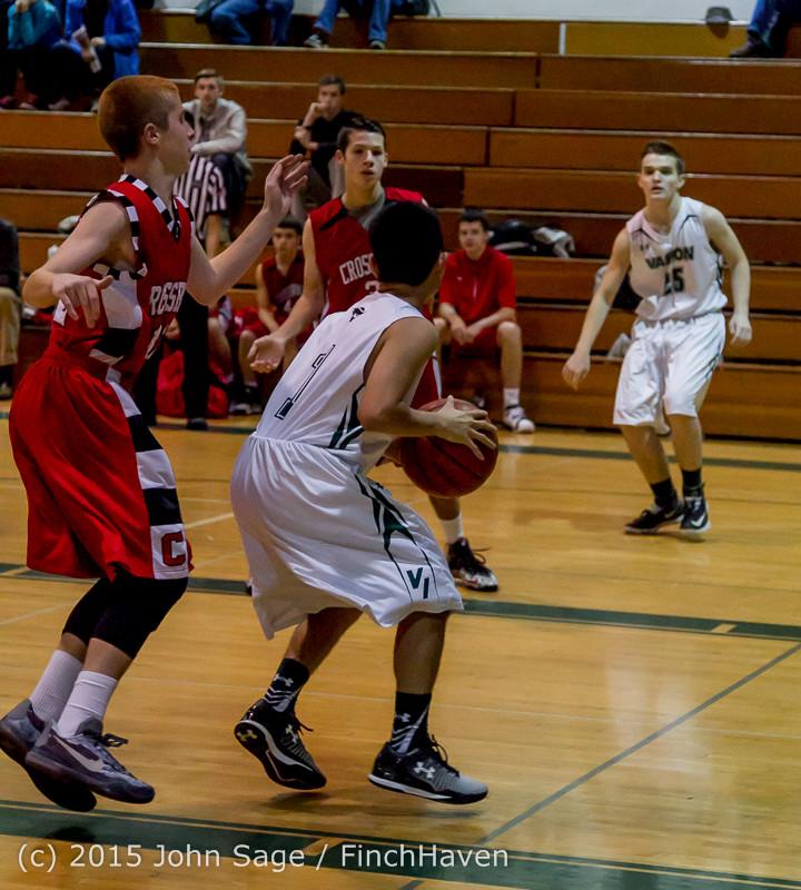 0237 Boys JV Basketball v Crosspoint 122115
