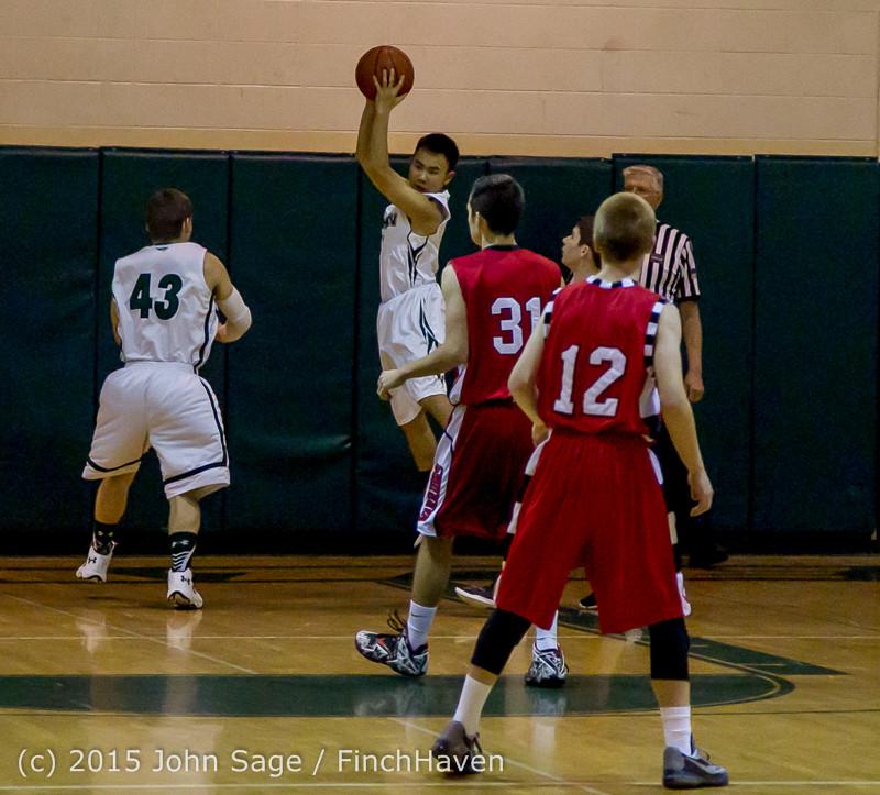 0296 Boys JV Basketball v Crosspoint 122115