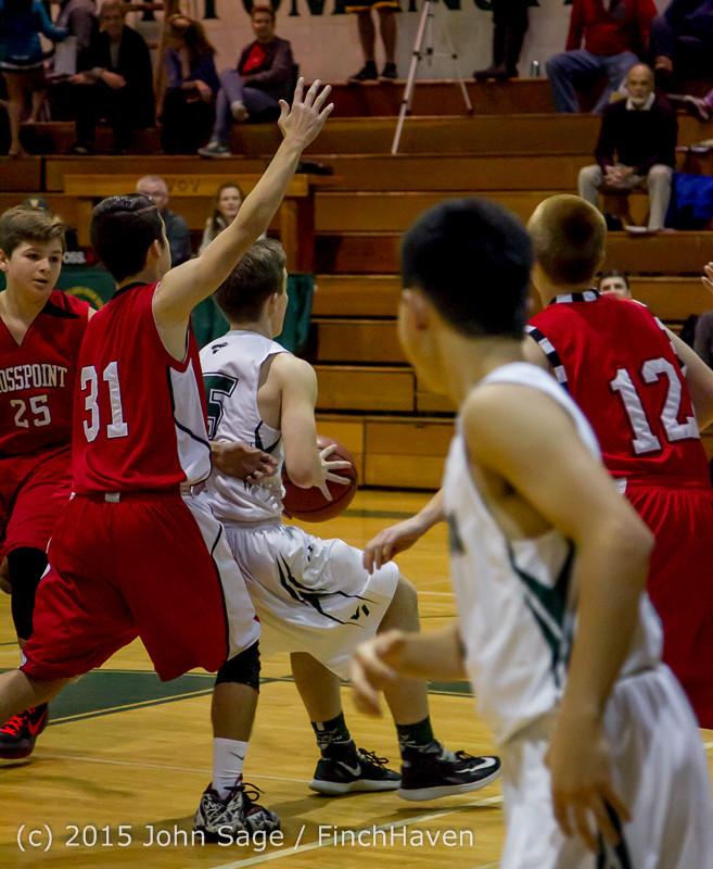 0321 Boys JV Basketball v Crosspoint 122115