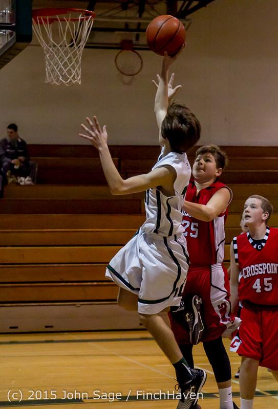 0380 Boys JV Basketball v Crosspoint 122115